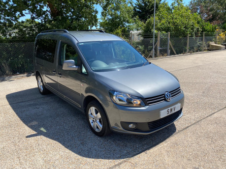 Volkswagen Caddy Maxi 2013 C20 LIFE TDI wheelchair & scooter accessible vehicle WAV 1