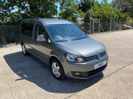 Volkswagen Caddy Maxi 2013 C20 LIFE TDI wheelchair & scooter accessible vehicle WAV