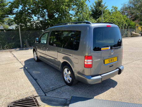 Volkswagen Caddy Maxi 2013 C20 LIFE TDI wheelchair & scooter accessible vehicle WAV 30