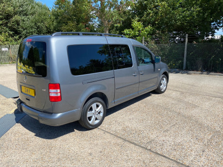 Volkswagen Caddy Maxi 2013 C20 LIFE TDI wheelchair & scooter accessible vehicle WAV 32