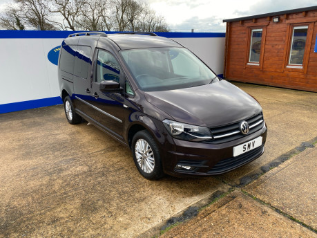 Volkswagen Caddy Maxi 2016 C20 LIFE TDI wheelchair & scooter accessible vehicle WAV 1