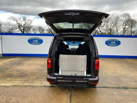 Volkswagen Caddy Maxi 2016 C20 LIFE TDI wheelchair & scooter accessible vehicle WAV 5
