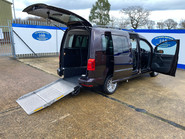 Volkswagen Caddy Maxi 2016 C20 LIFE TDI wheelchair & scooter accessible vehicle WAV 27