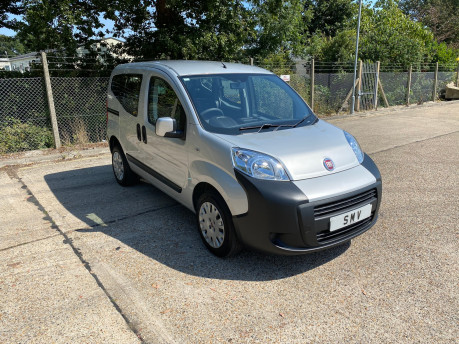 Fiat Qubo 2012 ACTIVE wheelchair & scooter accessible vehicle WAV 1