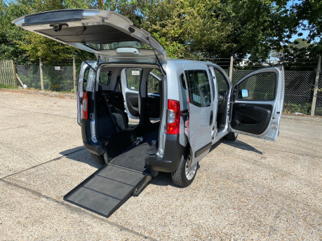 Fiat Qubo 2012 ACTIVE wheelchair & scooter accessible vehicle WAV 26