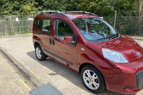 Fiat Qubo 2013 MULTIJET MYLIFE DUALOGIC wheelchair & scooter accessible vehicle WAV