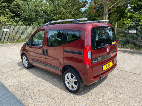 Fiat Qubo 2013 MULTIJET MYLIFE DUALOGIC wheelchair & scooter accessible vehicle WAV 20