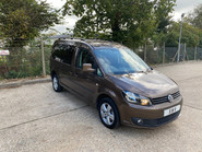 Volkswagen Caddy Maxi 2014 C20 LIFE TDI wheelchair & scooter accessible vehicle WAV 1