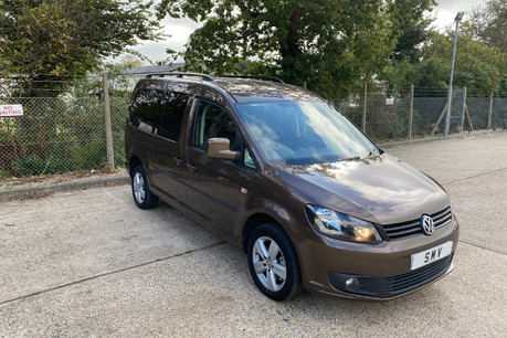 Volkswagen Caddy Maxi 2014 C20 LIFE TDI wheelchair & scooter accessible vehicle WAV