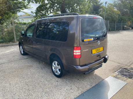 Volkswagen Caddy Maxi 2014 C20 LIFE TDI wheelchair & scooter accessible vehicle WAV 23