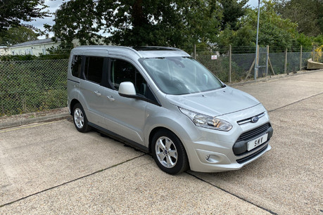 Ford Tourneo Connect 2017 TITANIUM TDCI Wheelchair & scooter accessible vehicle WAV