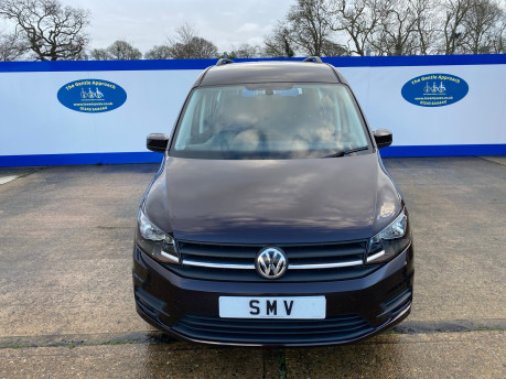 Volkswagen Caddy Maxi 2015 C20 LIFE TDI wheelchair & scooter accessible vehicle WAV 2