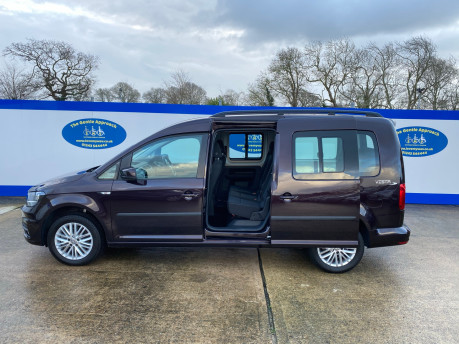 Volkswagen Caddy Maxi 2015 C20 LIFE TDI wheelchair & scooter accessible vehicle WAV 31