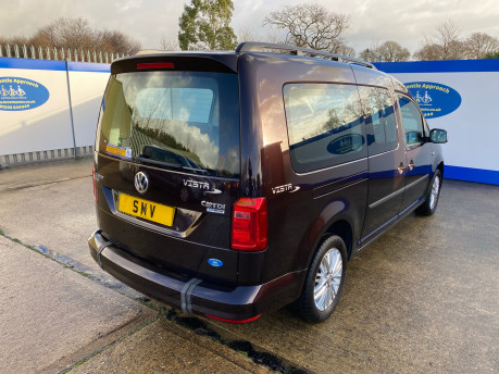 Volkswagen Caddy Maxi 2015 C20 LIFE TDI wheelchair & scooter accessible vehicle WAV 29