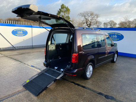 Volkswagen Caddy Maxi 2015 C20 LIFE TDI wheelchair & scooter accessible vehicle WAV 26