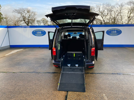 Volkswagen Caddy Maxi 2015 C20 LIFE TDI wheelchair & scooter accessible vehicle WAV 27