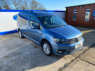 Volkswagen Caddy Maxi 2017 C20 LIFE TDI wheelchair & scooter accessible vehicle WAV 1