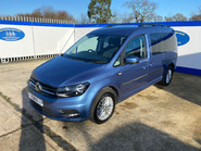 Volkswagen Caddy Maxi 2017 C20 LIFE TDI wheelchair & scooter accessible vehicle WAV 3