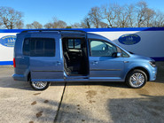 Volkswagen Caddy Maxi 2017 C20 LIFE TDI wheelchair & scooter accessible vehicle WAV 28
