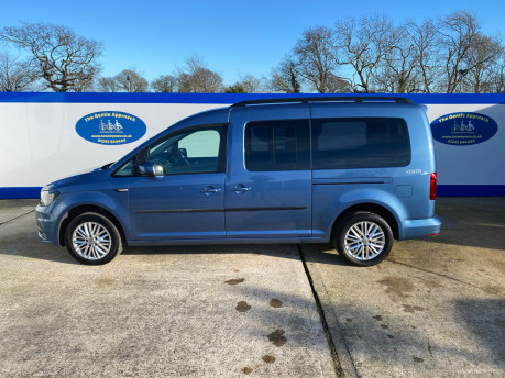 Volkswagen Caddy Maxi 2017 C20 LIFE TDI wheelchair & scooter accessible vehicle WAV 29