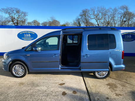 Volkswagen Caddy Maxi 2017 C20 LIFE TDI wheelchair & scooter accessible vehicle WAV 30