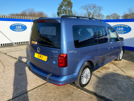 Volkswagen Caddy Maxi 2017 C20 LIFE TDI wheelchair & scooter accessible vehicle WAV 31
