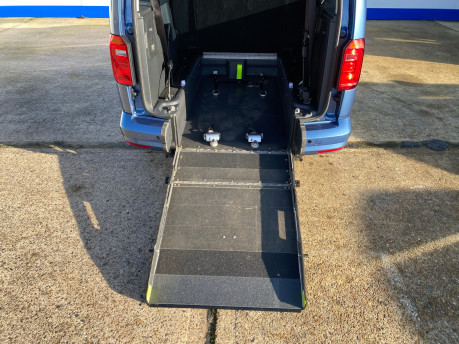 Volkswagen Caddy Maxi 2017 C20 LIFE TDI wheelchair & scooter accessible vehicle WAV 11