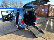 Volkswagen Caddy Maxi 2017 C20 LIFE TDI wheelchair & scooter accessible vehicle WAV 32