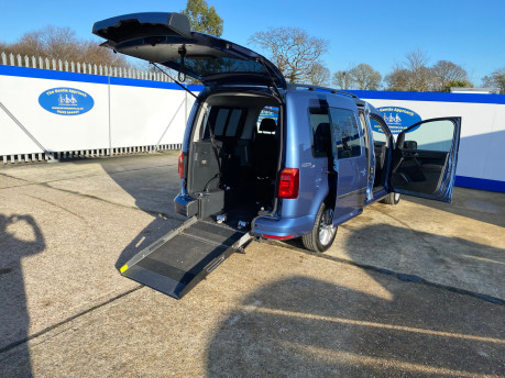Volkswagen Caddy Maxi 2017 C20 LIFE TDI wheelchair & scooter accessible vehicle WAV 34