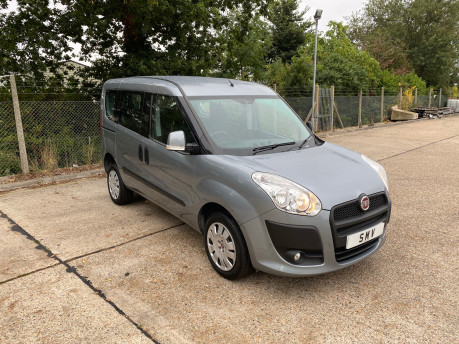 Fiat Doblo MYLIFE scooter & wheelchair accessible vehicle WAV 3