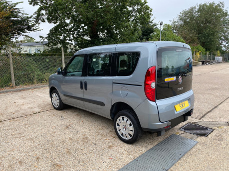 Fiat Doblo MYLIFE scooter & wheelchair accessible vehicle WAV 20