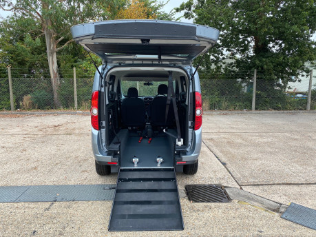 Fiat Doblo MYLIFE scooter & wheelchair accessible vehicle WAV 6