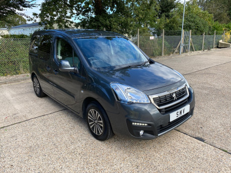 Peugeot Partner 2015 BLUE HDI TEPEE ACTIVE Wheelchair & Scooter accessible vehicle WAV 1
