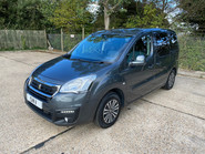 Peugeot Partner 2015 BLUE HDI TEPEE ACTIVE Wheelchair & Scooter accessible vehicle WAV 3