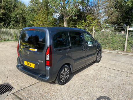 Peugeot Partner 2015 BLUE HDI TEPEE ACTIVE Wheelchair & Scooter accessible vehicle WAV 30