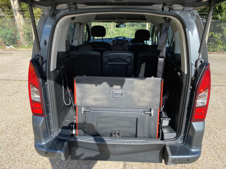 Peugeot Partner 2015 BLUE HDI TEPEE ACTIVE Wheelchair & Scooter accessible vehicle WAV 7