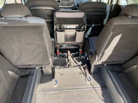 Peugeot Partner 2015 BLUE HDI TEPEE ACTIVE Wheelchair & Scooter accessible vehicle WAV 12