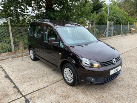 Volkswagen Caddy 2014 C20 LIFE TDI wheelchair & scooter accessible vehicle WAV 1