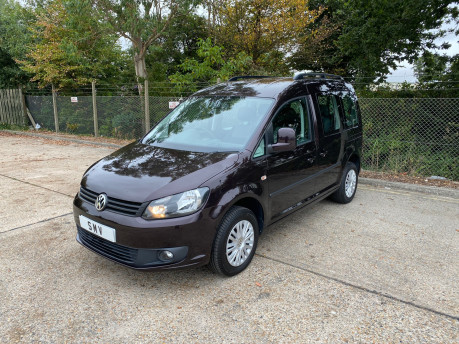 Volkswagen Caddy 2014 C20 LIFE TDI wheelchair & scooter accessible vehicle WAV 3
