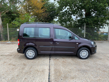 Volkswagen Caddy 2014 C20 LIFE TDI wheelchair & scooter accessible vehicle WAV 17