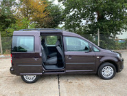 Volkswagen Caddy 2014 C20 LIFE TDI wheelchair & scooter accessible vehicle WAV 18