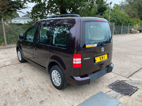 Volkswagen Caddy 2014 C20 LIFE TDI wheelchair & scooter accessible vehicle WAV 16