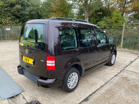 Volkswagen Caddy 2014 C20 LIFE TDI wheelchair & scooter accessible vehicle WAV 19