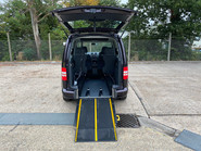 Volkswagen Caddy 2014 C20 LIFE TDI wheelchair & scooter accessible vehicle WAV 6