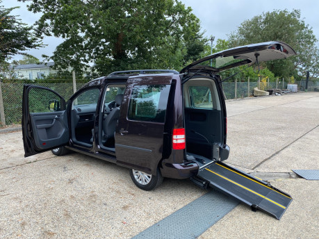 Volkswagen Caddy 2014 C20 LIFE TDI wheelchair & scooter accessible vehicle WAV 20