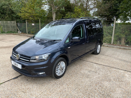 Volkswagen Caddy Maxi C20 LIFE TDI wheelchair & scooter accessible vehicle WAV 1