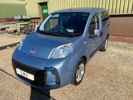 Fiat Qubo 2014 MYLIFE wheelchair & scooter accessible vehicle WAV 3