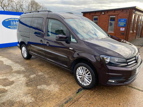 Volkswagen Caddy Maxi 2017 C20 LIFE TDI wheelchair & scooter accessible vehicle WAV