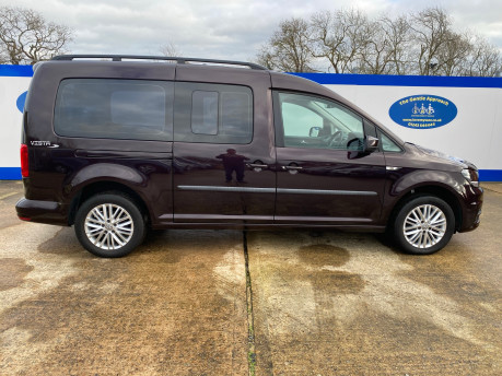 Volkswagen Caddy Maxi 2017 C20 LIFE TDI wheelchair & scooter accessible vehicle WAV 24