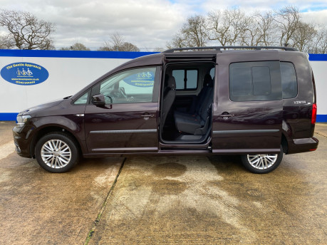 Volkswagen Caddy Maxi 2017 C20 LIFE TDI wheelchair & scooter accessible vehicle WAV 27